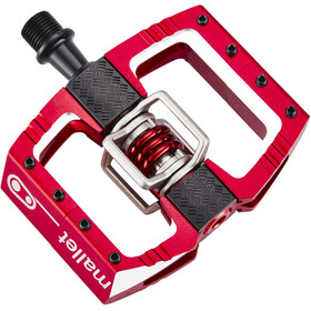 Crankbrothers Mallet DH Pedals red